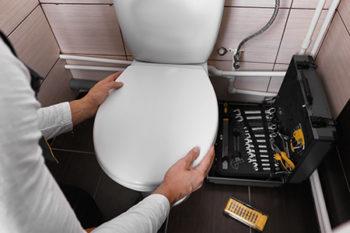 Residential Toilet Installation